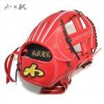 野球 BrandA ブランドA 硬式グラブ 硬式用グローブ 内野用中 104AKC 型付け無料
