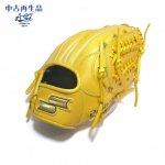 野球 USED 中古 硬式グラブ 内野手用 SSK エスエスケイ プロブレイン ライトタン PHX-46 6S 日本製