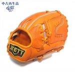 野球 USED 中古 硬式グラブ 内野手用 ZETT ゼット プロステイタス サイズ3 BPROG46 オレンジ 右投用 日本製