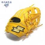 野球 USED 中古 硬式グラブ 内野手用 SSK エスエスケイ ライトオレンジ×タン サイズ5L 右投用 PEK-35719 日本製