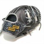 野球 エスエスケイ SSK 軟式グラブ 内野手用 サイズ5S プロエッジ エレファント型押しレザー PENE8445S21F