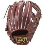 野球 ゼット ZETT プロステイタス 硬式グラブ 内野手用 BPROG760 サイズ4 チョコブラウン