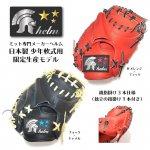 野球 ヘルム helm 限定 少年軟式用キャッチャーミット 小型捕手用 S505X 日本製 硬式材使用