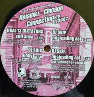 Ural 13 Diktators / DJ Skip / Helsinki-Chicago Connection EP (12