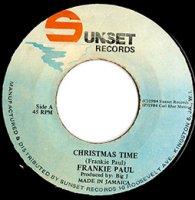 Frankie Paul / Christmas Time (7