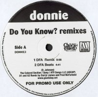 Donnie / Do You Know? (Remixes) (12