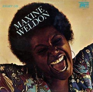 Maxine Weldon / Right On (LP)