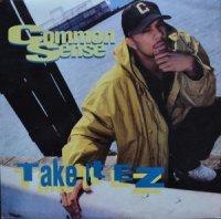 """COMMON SENSE / TAKE IT EZ (12"""")"""