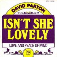 David Parton / Isn't She Lovely (7