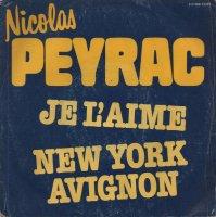 Nicolas Peyrac / Je L'Aime / New York Avignon (7