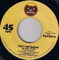 Runt-Todd Rundgren / Be Nice To Me (7