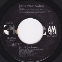 Janet Jackson / Let's Wait Awhile (7