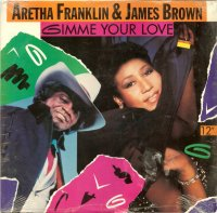 Aretha Franklin & James Brown / Gimme Your Love (12
