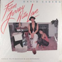 David Cedeno / From Jersey With Love (LP)