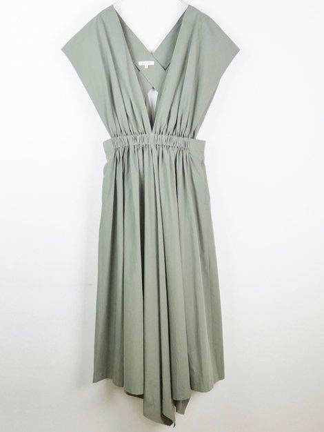 20SS バッククロスギャザードレス
