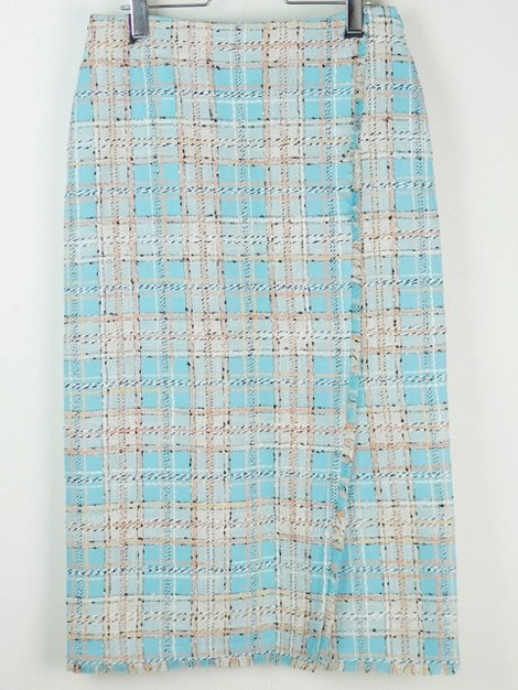 20SS ミックスツイードタイトスカート