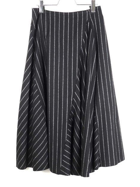 15AW ストライプフレアースカート