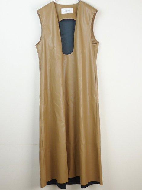 19AW エコレザージャンパースカート