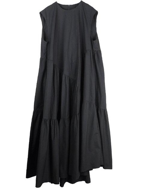 19AW ランダムティアードドレス