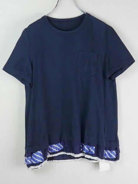 18SS 裾デザインカットソー