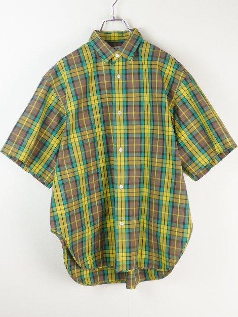 19SS マドラスチェックショートスリーブシャツ