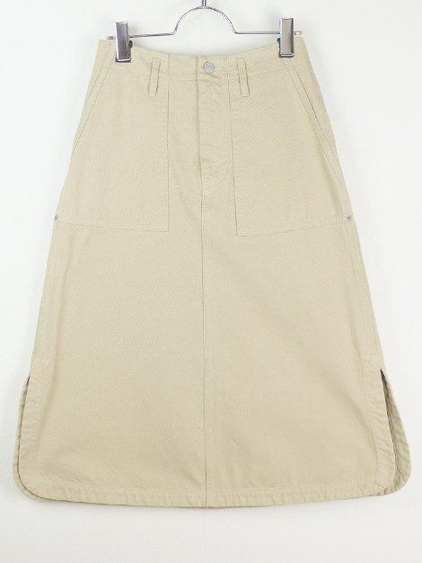 18AW コットンチノロングスカート