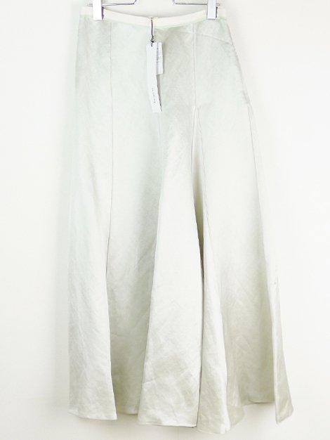 シルクリネンパネルスカート