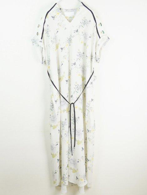 20SS Flower Printed Dress