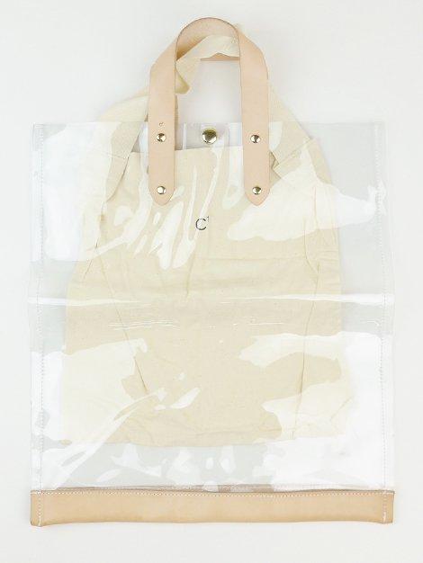 PVCクリアトートバッグ