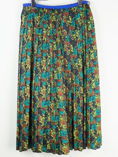 19AW フラワープリントプリーツスカート