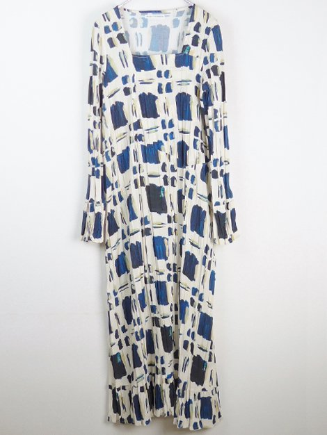 21SS Square Neck Dress(navy)