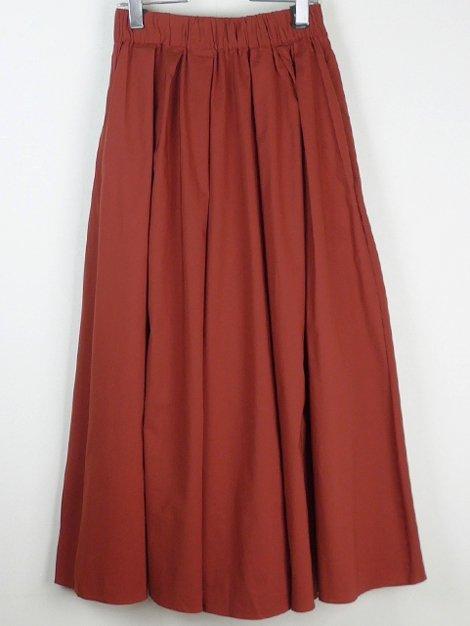 19AW カラーロングスカート