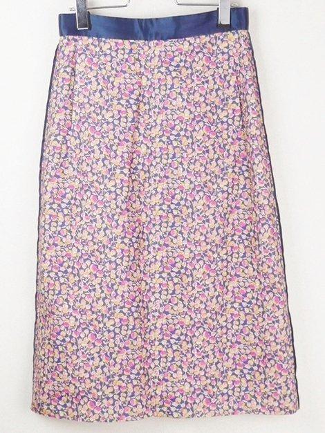 18SS リネンフラワースカート