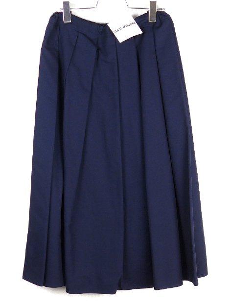 18SS SAKE コットンプリーツスカート