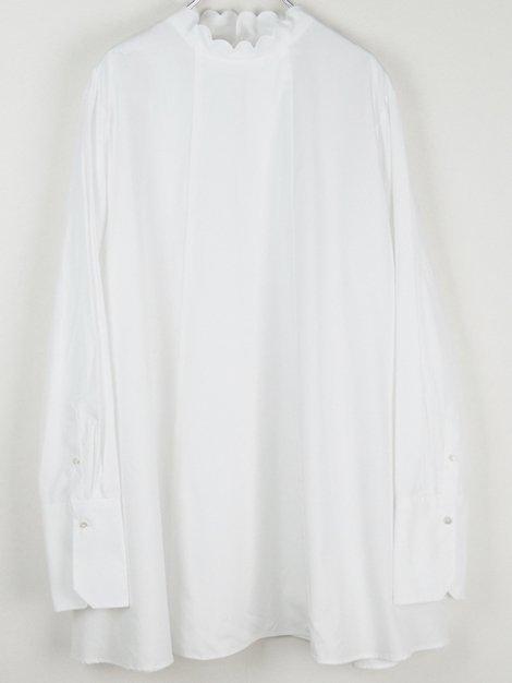 20AW Back Scallop Shirt