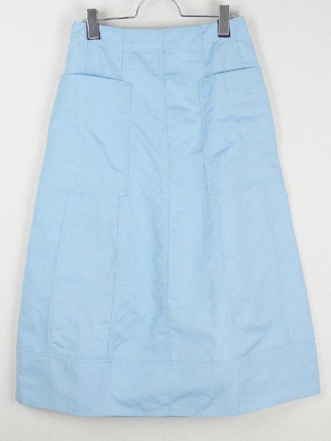 21SS オックス切り替えフロントポケットスカート