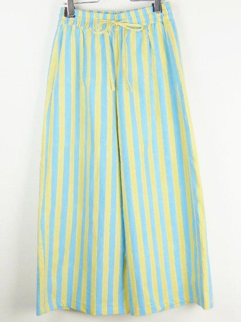 21SS Drawstring Thick Stripe Pants