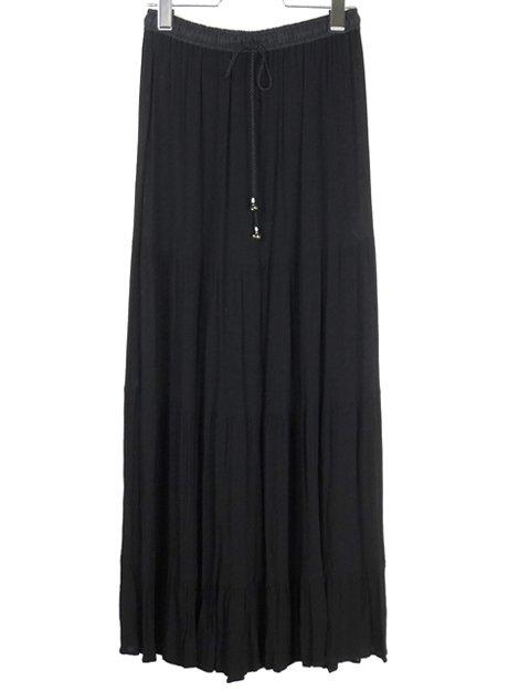 18AW レーヨンギャザースカート