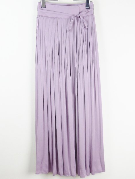 19SS プリーツロングスカート