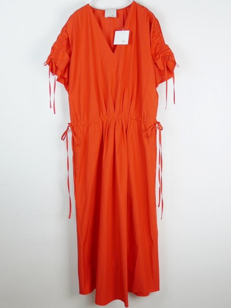 19SS Parasol パラソル ドレス TOMATO