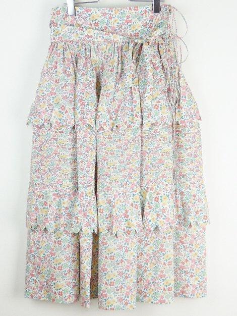 20AW 別注ティアードフラワースカート