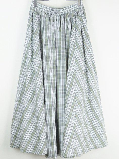 20SS チェックギャザースカート