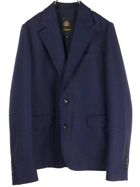 19AW ウールモヘアテーラードジャケット