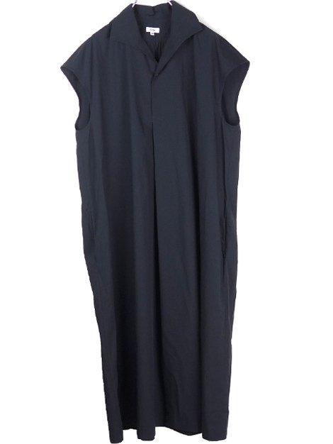 19SS イタリアンカラーサックドレス