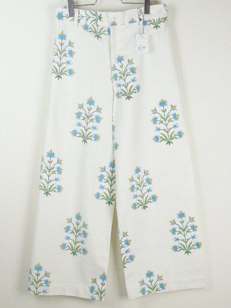 21SS Disco Lily Print Pants