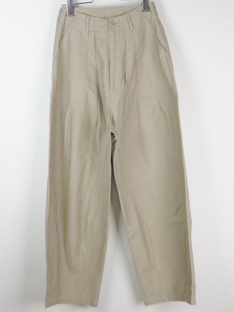 21SS Wide Military Pants