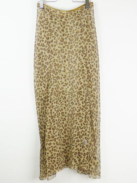 20AW レオパードスカート