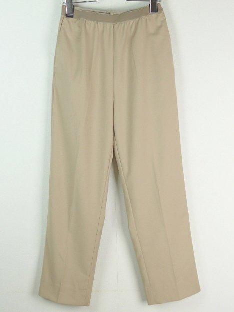 Straight Pants Beige