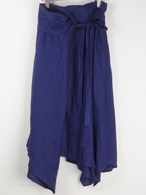 19SS リネンラップスカート