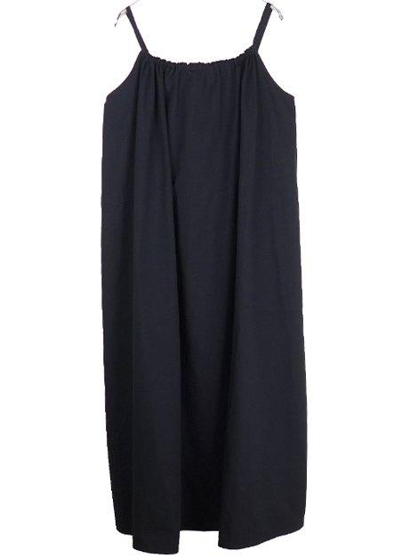 21SS バックリボンキャミドレス
